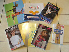 New! Lot of 7 Gymnastics products Books Videos Shannon Miller Dominique Moceanu