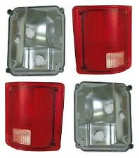 Fits 73 - 87 Chevy GMC Truck Taillamp Taillight Pair Set Lens and Housing