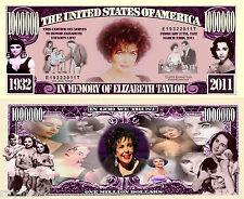Elizabeth Taylor Liz Film Star Academy Award Winner Violet Eyes bill/w protector