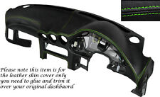 Verde Stitch Dash Dashboard Leather Piel tapa se ajusta Mitsubishi Gto 3000gt 92-99