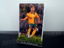 ✺Signed✺ MARK BRESCIANO Photo & Frame PROOF COA Socceroos World Cup 2018 Jersey