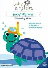 BABY EINSTEIN - BABY NEPTUNE - DISCOVERING WATER (DVD, 2005) VGC -EDUCATIONAL