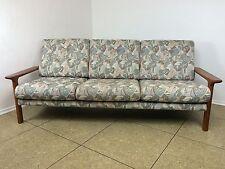 70er Jahre Teak Sofa Couch 3er Teaksofa Glostrup Denmark Danish Modern Design