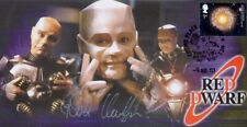 More details for red dwarf - signed/autographed stamp cover  by robert llewellyn