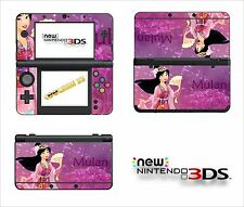 SKIN STICKER AUTOCOLLANT - NINTENDO NEW 3DS - REF 94 MULAN