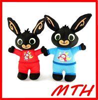 "Bing Bunny Bundle Bedtime Bing in Hoppity Voosh PJ Pyjamas 10"" Soft Toy 2015 VGC"