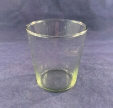 Pottery Barn Spiral Wrought Iron Glass Votive Candle REPLACEMENT GLASS only