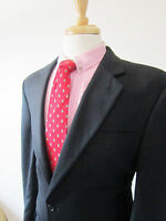 Jos A Bank Sport Coat Dark Gray Soft Wool Jacket Blazer Size 42L 42 L