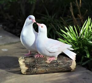 Garden Ornament Love Doves Turtle Home Decor Birds Windlife