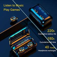 Wireless Bluetooth 5.0 Earbuds Tws Stereo Led Headset Earphones Headphones Hifi