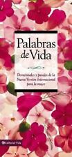 Palabras de Vida para la Mujer : Devotions and passages from the New...
