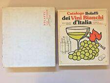 Catalogo dei Vini Bianchi d'Italia e spumanti Veronelli + scatola Bolaffi 1979