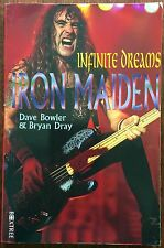 Iron Maiden : Infinite Dreams by Dave Bowler (1996, Paperback) Heavy Metal Rock