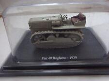 HACHETTE UNIVERSAL HOBBIES 1/43 CLASSIC 1939 FIAT 40 BOGHETTO MODEL TRACTOR