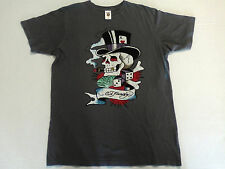 ED HARDY CHRISTIAN AUDIGIER GRAY SEXY T-SHIRT NEW WOMENS LADIES MENS TEEN RARE