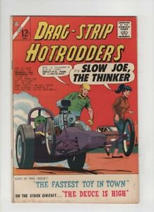 DRAG-STRIP HOTRODDERS #4 VF+, Dick Giordano cover, Charlton 1965, sweet copy