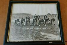 Vintage Notre Dame 1946 College Football National Champions Framed Photo Lujack
