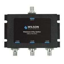 Wilson Electronics 3 Way 75 Ohm Splitter -4.8 (F-Female) 850035