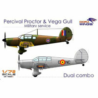 Dora Wings 7202D Percival Proctor& Vega Gull (2 in 1) 1:72 Plastic Model Kit