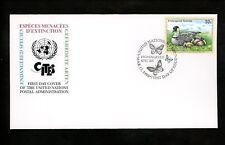 Postal History UN FDC NY #731 UNPA Endangered Species Animals Hawaii Goose 1998