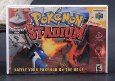 Pokemon Stadium Nintendo N64 Game Box - Fridge / Locker Magnet.