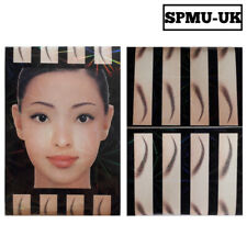 Eyebrow Template Stencil 21 Design Style Brows Microblading Marking Fleek Brow