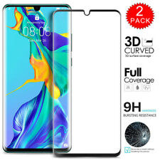 2x For Huawei P30 Pro 3D Curved Full Cover Tempered Glass Screen Protector 2Pack