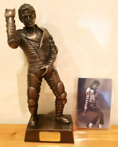 LEGENDS FOREVER MICHAEL JACKSON LIMITED EDITION FIGURE MODEL RARE ONLY 1000 MADE