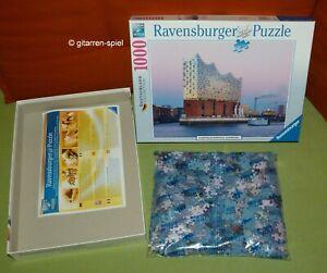 Elbphilharmonie Hamburg Komplett 1A Top! 1000 Teile Puzzle Ravensburger 19 784 2
