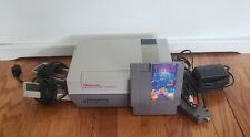 Nintendo NES-001 Console Bundle All Cords, 2 Controllers & Tetris TESTED