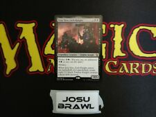 MTG Mono Black Brawl Commander Deck Josu Vess Deck Box Sleeves Magic