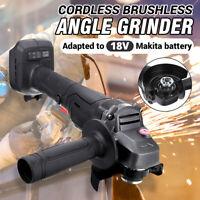 18V 100mm Brushless Cordless Angle Grinder Cut off Tool For Makita Li-ion Batter