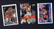 Rodney McCray, Acie Earl, Detroit Pistons - BASKETBALL CARD LOT #1