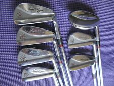 Ben Hogan Apex forged channelback patial iron set.  Including rare 2 and S wedge