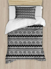 Duvet Cover Set Twin Size with 1 Pillow Sham
