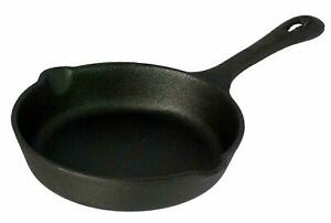 Vintage Gourmet ® Pre-Seasoned Cast Iron Skillet Frying Pan Versatile Cookware