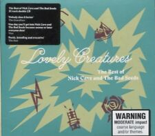 THE BEST OF NICK CAVE AND THE BAD SEEDS - LOVELY CREATURES on 2 CD's