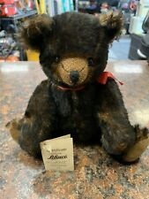 Rare Vintage Antique Berlin Brown Schuco Tricky Bear With Yes / No Head Rs