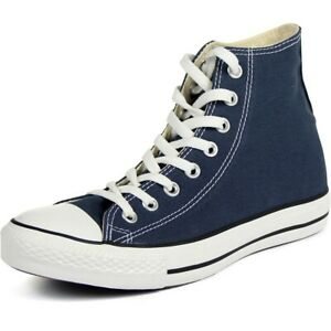 New CONVERSE CHUCK TAYLOR ALL STAR SHOES M9622 HI TOP NAVY 8.5 Size 10