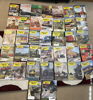Lot Of 37 RAILROAD MODEL CRAFTSMAN & Model Railroading MAGAZINE 1963-2013