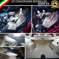 KIT FULL LED INTERNI BMW X4 F26 CONVERSIONE COMPLETA ULTRALUMINOSI 6000K CANBUS