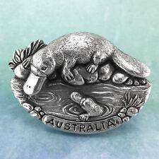 Platypus Souvenir Pewter Fridge Magnet Australiana Gift, Australian Made