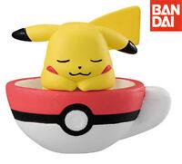 Bandai Pokemon Sun & Moon Tea Cup Time Collection 3 Gashapon Figure Pikachu