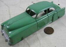 Vintage 1948 Die Cast Tootsietoy 6� Green Cadillac Sedan