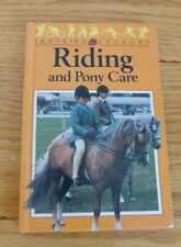 Vintage Ladybird book. Riding and Pony Care. First Edition.