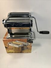 MARCATO Atlas  #150 Pasta Noodle Maker Machine Vintage w Box Made in Italy 🇮🇹