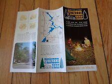 Brochure for Pioneer Park Wisconsin Dells Lake Delton Wisconsin
