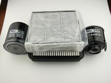 Mitsubishi Challenger filter kit oil,air,fuel,cabin for PB PC 2.5l 4D56 2009 on