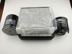 Mitsubishi Triton filter kit oil,air,fuel,cabin suits ML,MN 2.5l 4D56 2009 on