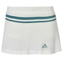 Adidas Adipure Gonna corta Tennis Pantaloni Bianchi misua XL Con Etichetta